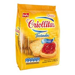 Galletita  Criollitas Tostadas x 200 G