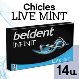 Chicle  Beldent Infinit Live x 26.6 G