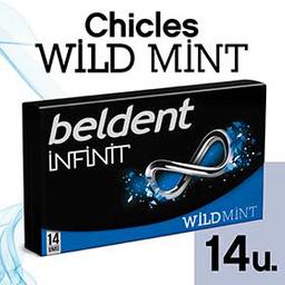 Chicle  Beldent Infinit Wild Mint x 26.6 G
