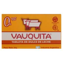 Chocolate  Vauquita Tradicional x 25 G