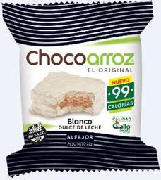 Alfajor  Chocoarroz Bco de Ddl x 1 U