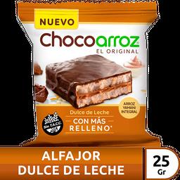 Alfajor De Arroz Chocoarroz Negro Dl X 25 Gr