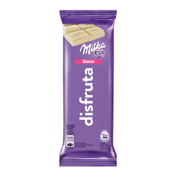 Milka Chocolates Blanco Disfruta