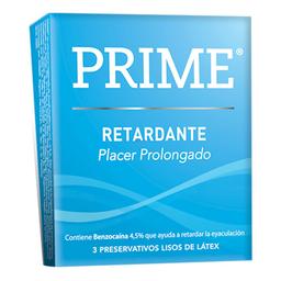 Preservativo  Prime Retardante x 3 U