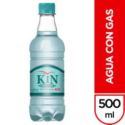 Agua  Kin Bajo Sodio con Gas x 500 mL