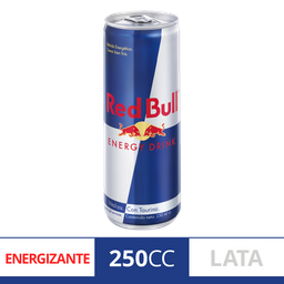 Bebidas Energizantes Red Bull Energy Drink 250Ml Lata