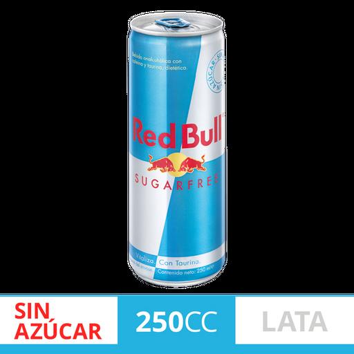 Red Bull Bebidas Energizantes Sugarfree Lata