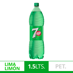Gaseosa 7Up Lima Limón 1.5L