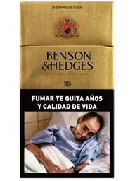 Caja De Cigarrillos Benson & Hedges 100S 20