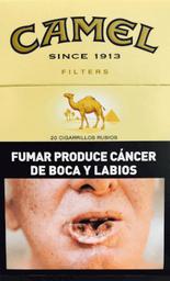 Cigarrillo  Camel Ks Sc 20 Picc x 20 U