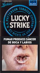 Cigarrillos Lucky Strike Click 1871 20 U