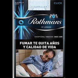 Cigarrillos Rothmans Click Comun 20