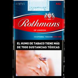 Cigarrillos Rothmans Red Comun 20