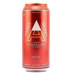 Cerveza Andes Origen Roja