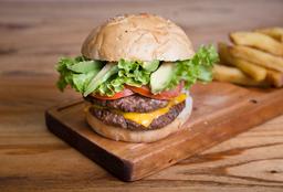 Hamburguesa Double Texas Burger