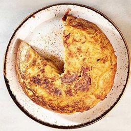 Tortilla con Chistorra