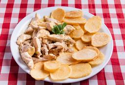 Pollo a la Mostaza + Guarnición