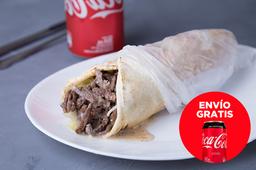 Envío Gratis: Shawarma Wrap + Coca-Cola Original
