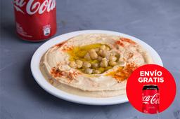 Envío Gratis: Hummus al Plato + Coca-Cola Original