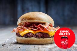 Envío Gratis - Bacon Cheese Burger + Coca-Cola sin Azúcar