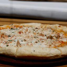 Pizza Pollo & Salsa Blanca