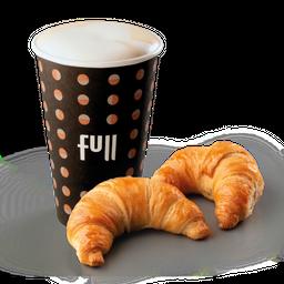 Combo 2 Facturas & Café Latte