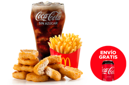 Envío Gratis: Combo McNuggets + Coca-Cola Sin Azúcar