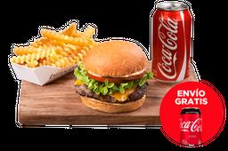 Envío Gratis: Burger + Fries + Coca-Cola Sin Azúcar