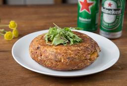 Tortilla de Papas + 2 Heineken
