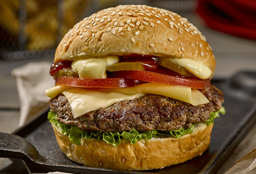 Burger Clásica + Papas Fritas