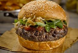 Veggie Burger + Papas Fritas