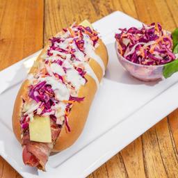 California Hot Dog + Bebida