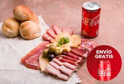 Envío Gratis: Picada + Coca-Cola Original