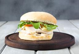 Sándwich Gourmet Pollo Caesar