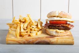 Burger Munich + Lata de Coca