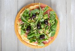 Pizza Crudo y Rúcula Individual