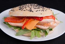 Sándwich de Pollo & Panceta