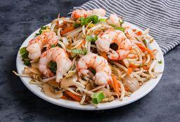 Chop Suey con Camarones