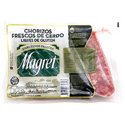 Chorizo Fresco De Cerdo Magret Bombon 400Gr