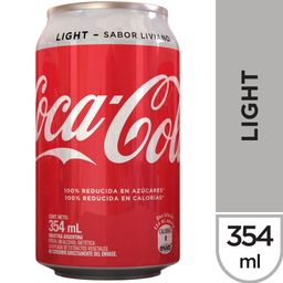 Bebida Coca-Cola Light