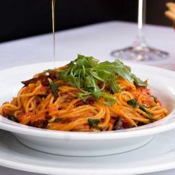 Spaghetti Rúcula & Tomates