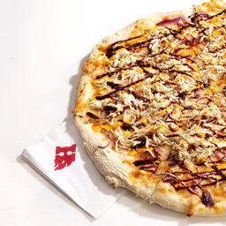 Half Pizza Chick Norris