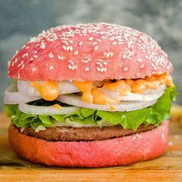 Pink Notco Burger