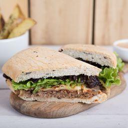 Sándwich de Pollo Cheddar