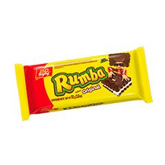 Galletitas Rumba Sabor Chocolate Relleno Sabor Coco 112 g