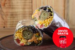 Envío Gratis: Wrap Falafel + Coca-Cola