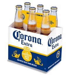 Six Pack Cerveza Corona 355 Ml