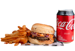 Combo Coca-Cola - Cordero Lamby + Papas + Bebida