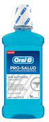 Enjuague Bucal Oral-B Pro Salud Sabor Menta Fresca 500 mL