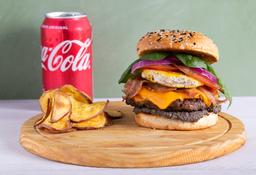 Hamburguesado + Coca-Cola